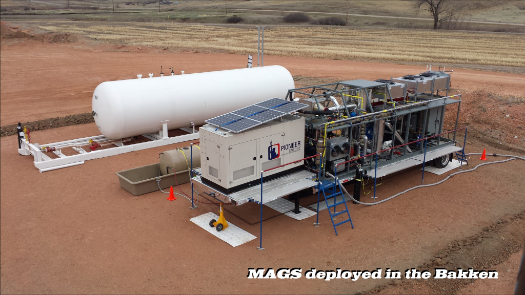 Pioneer Energy Has Now Deployed its 1st Mobile Alkane Gas Separator Unit to the Field in North Dakota Bakken